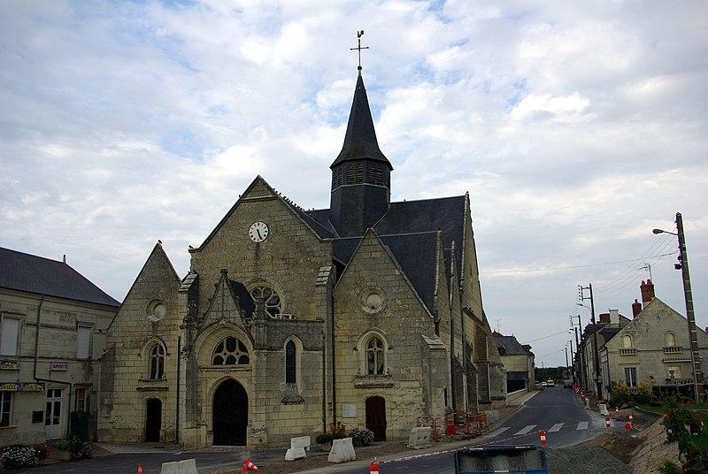 Photo du Monument Historique Eglise paroissiale de la Translation de Saint-Martin situé à La Chapelle-sur-Loire