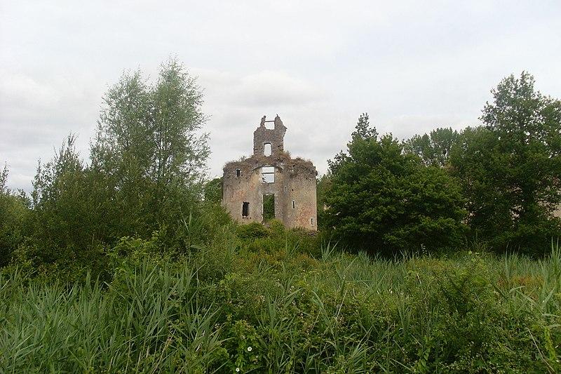 Photo du Monument Historique Château de Vaujours situé à Château-la-Vallière