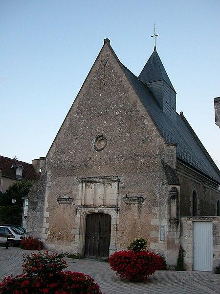 Photo du Monument Historique Eglise paroissiale Saint-Jean-Baptiste situé à Chenonceaux