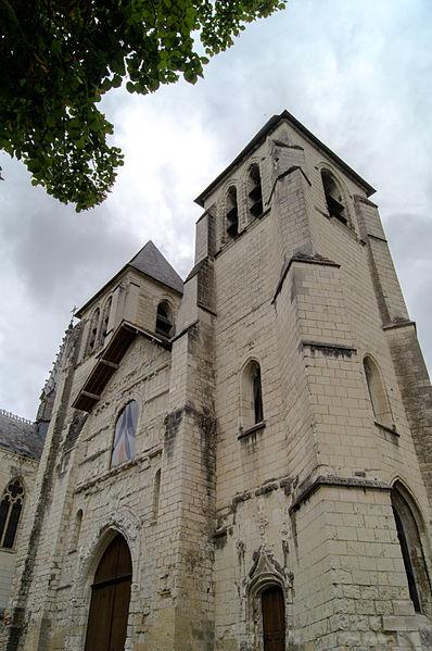 Photo du Monument Historique Ancienne abbaye Saint-Mexme situé à Chinon