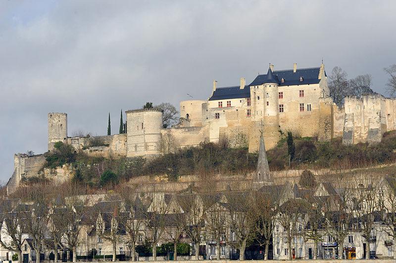 Photo du Monument Historique Château situé à Chinon