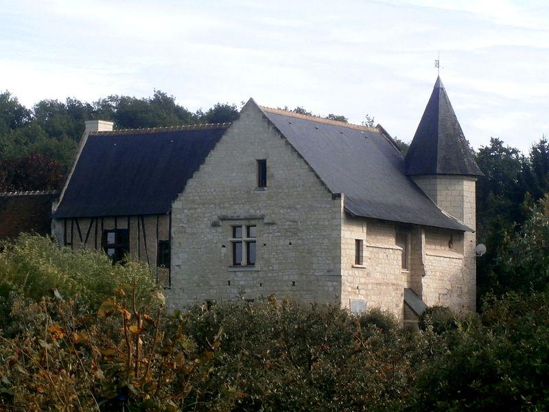 Photo du Monument Historique Château de Fromentières situé à Chinon