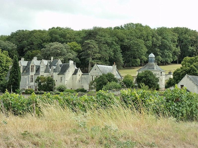 Photo du Monument Historique Château de la Vauguyon situé à Chinon