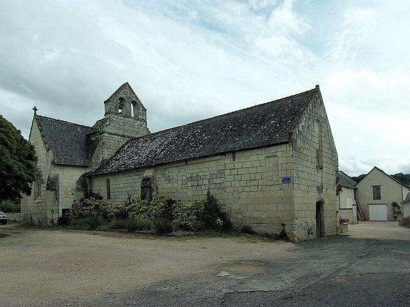 Photo du Monument Historique Eglise de Parilly (ancienne église Notre-Dame de l'Epine de Parilly) situé à Chinon