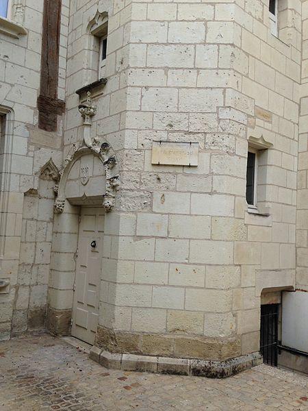 Photo du Monument Historique Ancien hôtel des Monnaies situé à Chinon