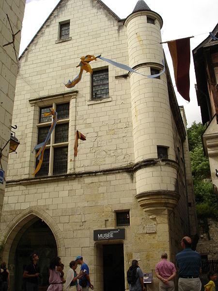 Photo du Monument Historique Maison dite des Etats généraux, actuellement Musée des Amis du Vieux Chinon situé à Chinon