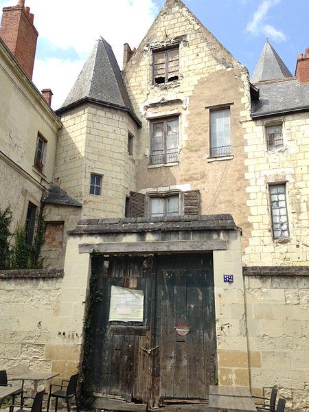 Photo du Monument Historique Hôtel situé à Chinon