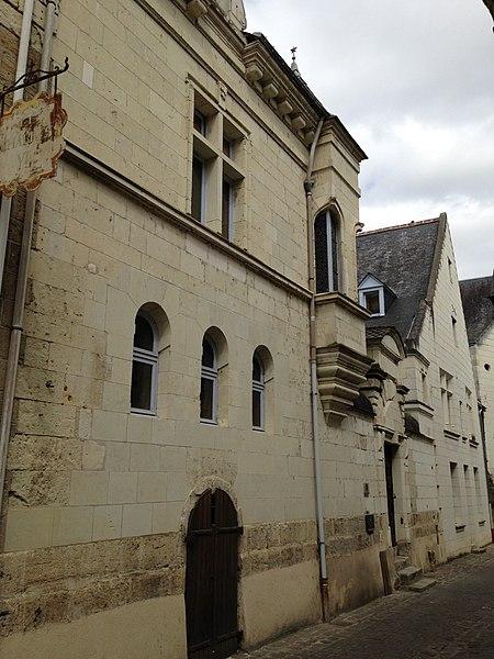 Photo du Monument Historique Hôtel dit Maîtrise des Eaux et Forêts situé à Chinon