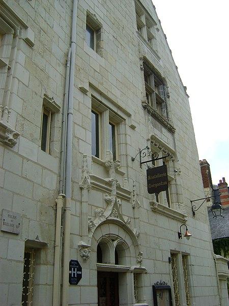Photo du Monument Historique Ancien palais du Bailliage situé à Chinon