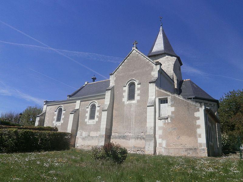 Photo du Monument Historique Eglise paroissiale Saint-Pierre situé à Chisseaux