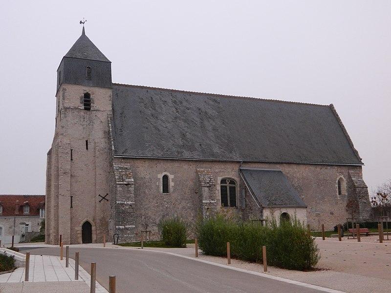 Photo du Monument Historique Eglise paroissiale Notre-Dame situé à Cigogné