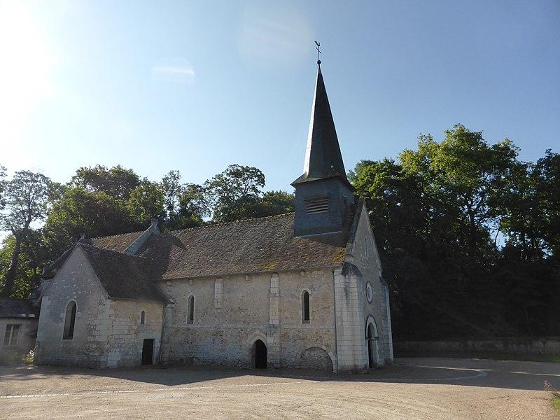 Photo du Monument Historique Eglise paroissiale Saint-Germain situé à Civray-de-Touraine