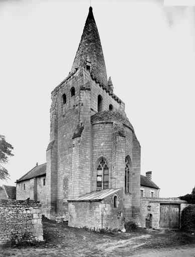 Photo du Monument Historique Eglise Saint-Rémi situé à Civray-sur-Esves