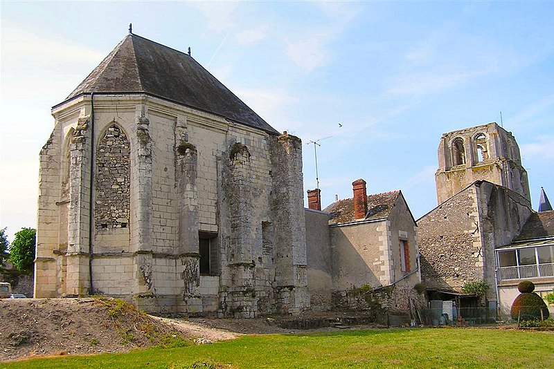 Photo du Monument Historique Ancienne abbaye bénédictine situé à Cormery