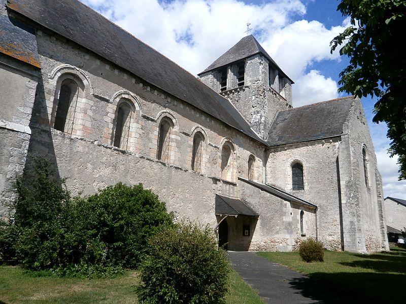 Photo du Monument Historique Eglise Notre-Dame-de-Fougeray situé à Cormery
