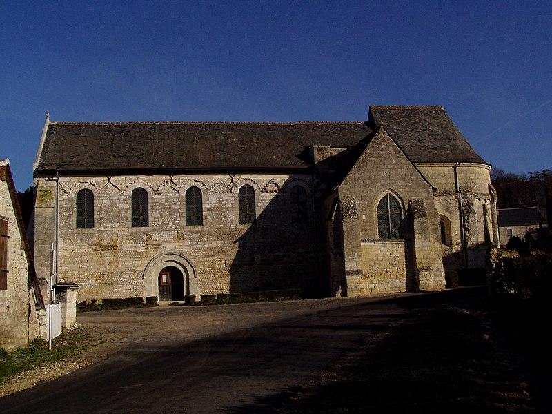 Photo du Monument Historique Eglise du cimetière (église Saint-Léger du Vieux-Bourg) situé à Cravant-les-Côteaux