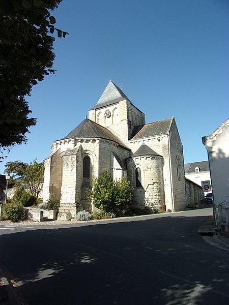Photo du Monument Historique Eglise Notre-Dame situé à Crouzilles