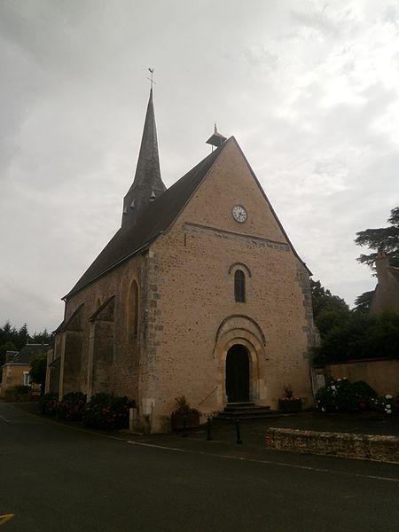 Photo du Monument Historique Eglise paroissiale Saint-Etienne situé à Epeigné-sur-Dême