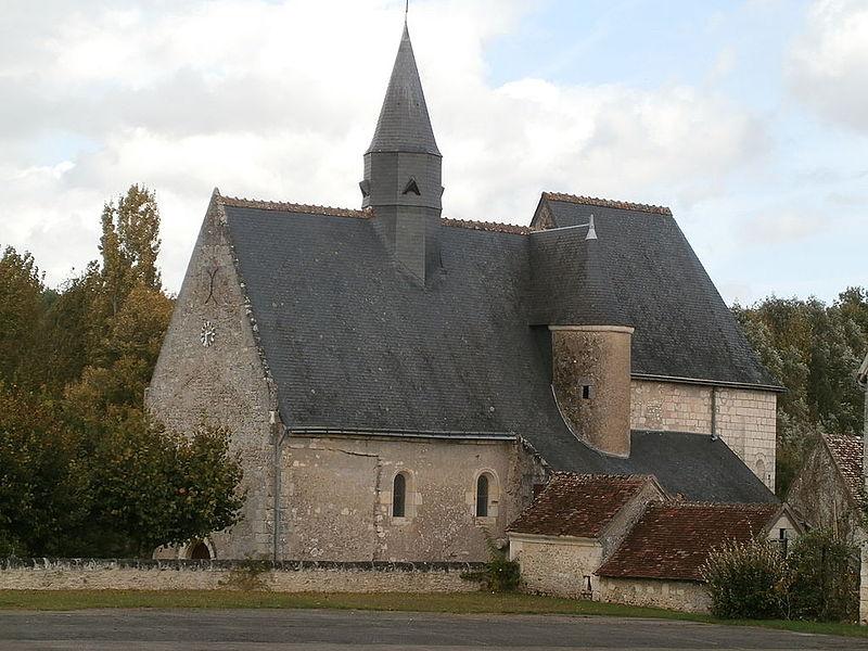 Photo du Monument Historique Eglise paroissiale Notre-Dame situé à Ferrière-sur-Beaulieu