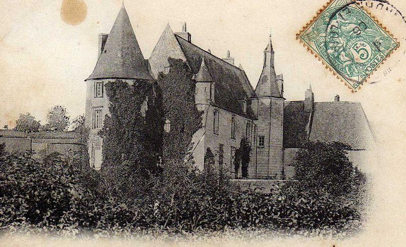 Photo du Monument Historique Château situé à Genillé