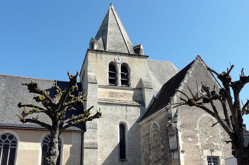 Photo du Monument Historique Eglise paroissiale Sainte-Eulalie situé à Genillé