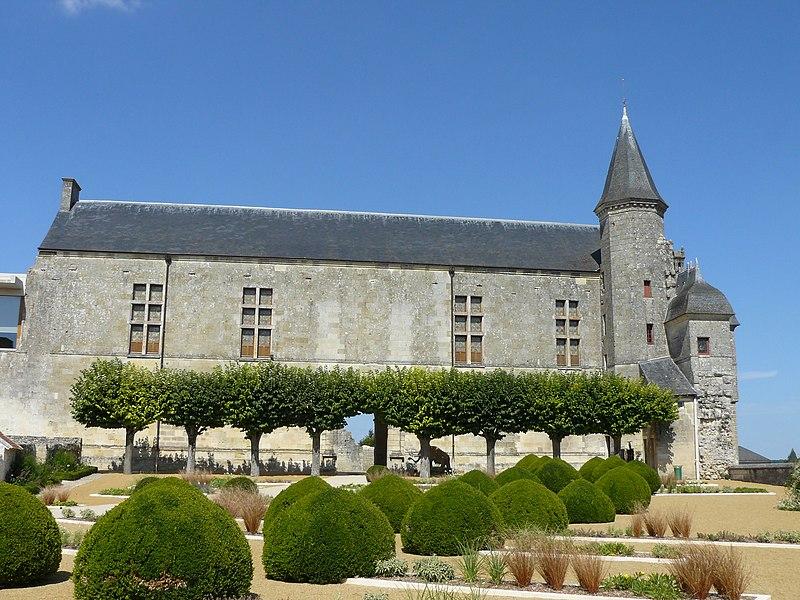 Photo du Monument Historique Château du Grand Pressigny situé à Le Grand-Pressigny