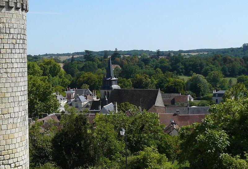 Photo du Monument Historique Eglise Saint-Gervais-Saint-Protais situé à Grand-Pressigny (Le)