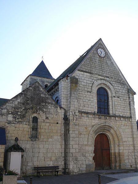Photo du Monument Historique Eglise paroissiale Saint-Gilles situé à L'Île-Bouchard