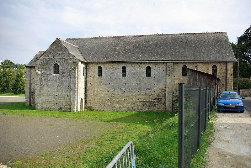 Photo du Monument Historique Ancienne église Saint-Laurent situé à Langeais