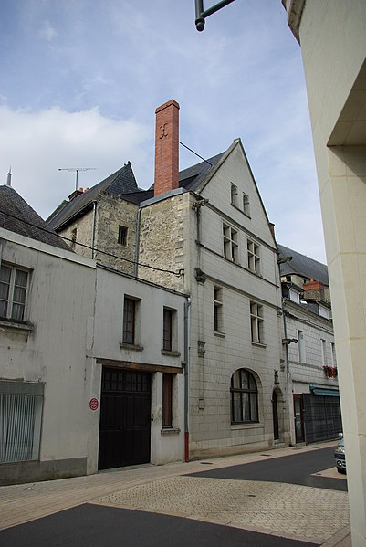 Photo du Monument Historique Immeuble situé à Langeais