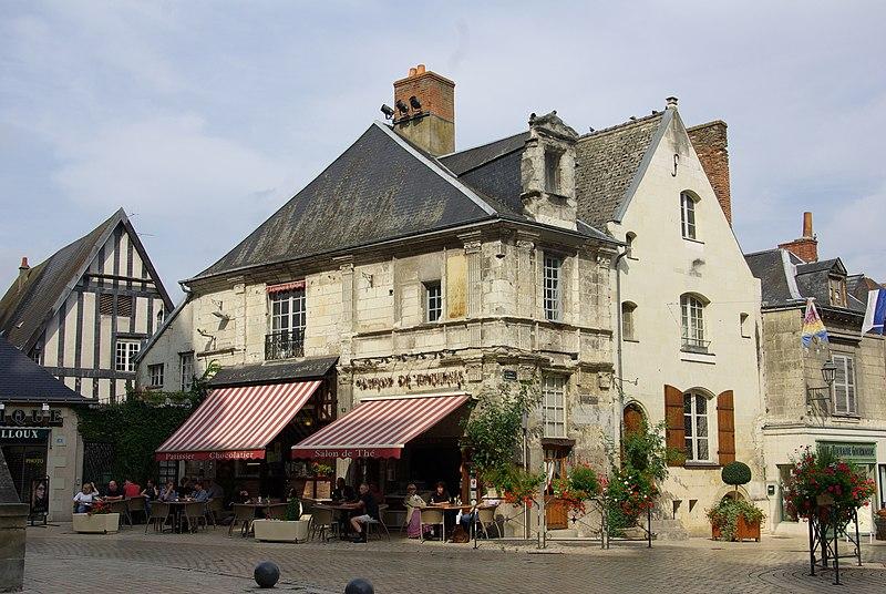 Photo du Monument Historique Maison dite de Rabelais situé à Langeais