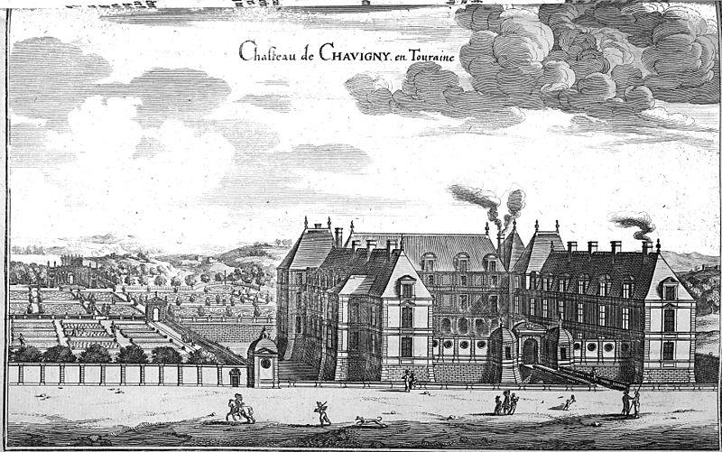 Photo du Monument Historique Château de Chavigny situé à Lerné