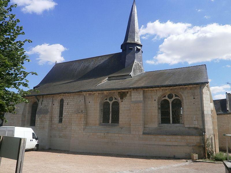 Photo du Monument Historique Eglise Saint-Martin situé à Lerné