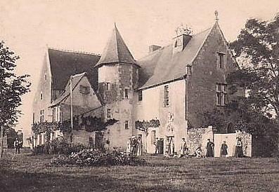 Photo du Monument Historique Manoir d'Avisé situé à Limeray