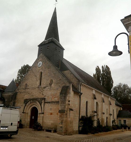 Photo du Monument Historique Eglise paroissiale Saint-Barthélémy et Saint-Laurent situé à Loché-sur-Indrois