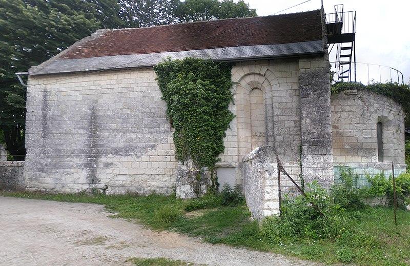 Photo du Monument Historique Ancienne chapelle de Vignemont situé à Loches