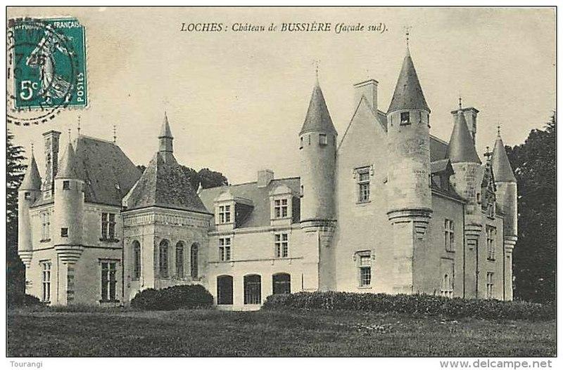 Photo du Monument Historique Château de la Bussière situé à Loches