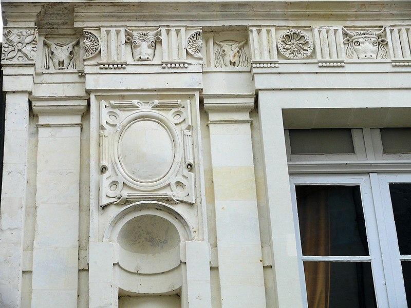 Photo du Monument Historique Maison dite de la Chancellerie situé à Loches