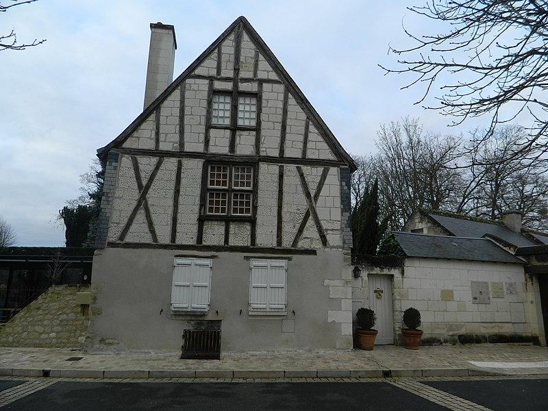 Photo du Monument Historique Maison situé à Loches
