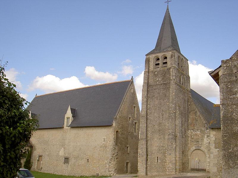 Photo du Monument Historique Eglise paroissiale Saint-Sulpice situé à Le Louroux
