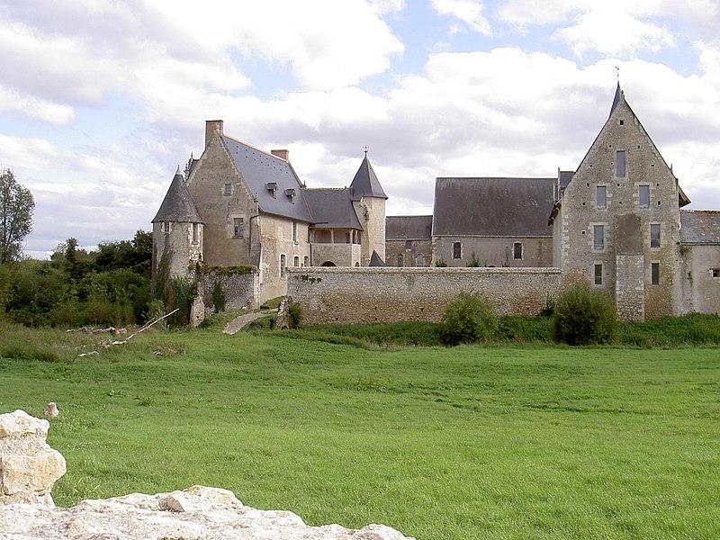 Photo du Monument Historique Ancienne ferme abbatiale situé à Le Louroux