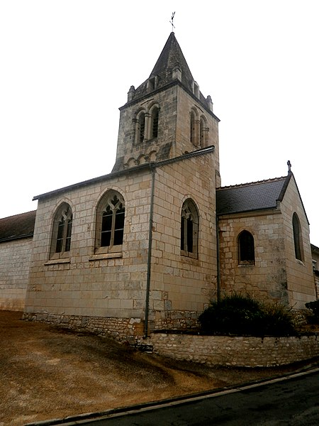 Photo du Monument Historique Eglise paroissiale Saint-Pierre situé à Marçay