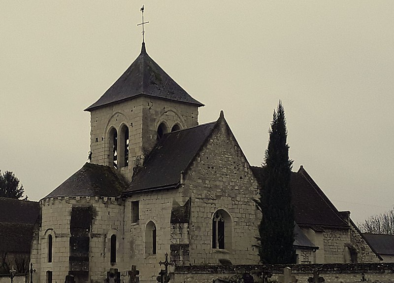 Photo du Monument Historique Eglise paroissiale Saint-Martin situé à Marcé-sur-Esves