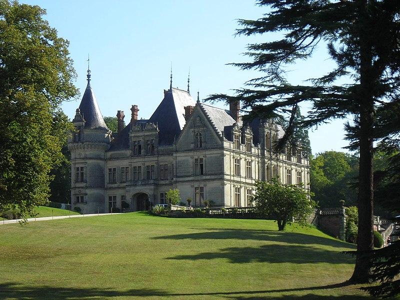 Photo du Monument Historique Domaine de la Bourdaisière situé à Montlouis-sur-Loire