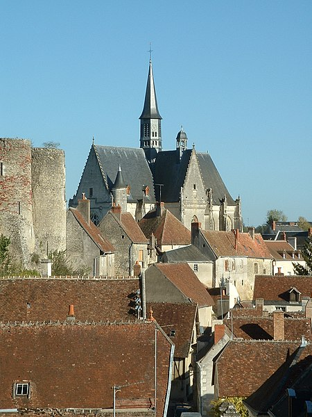 Photo du Monument Historique Eglise paroissiale Saint-Jean-Baptiste situé à Montrésor