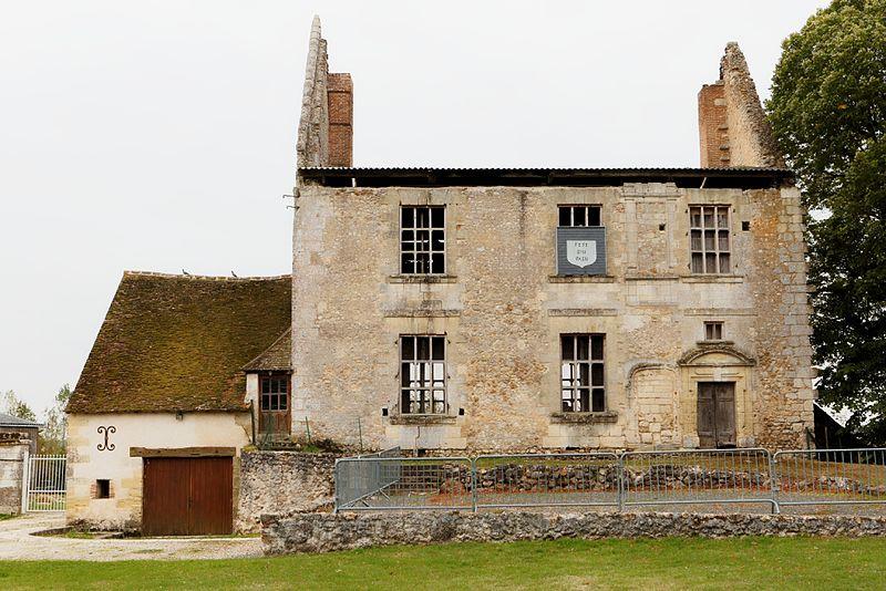 Photo du Monument Historique Ancien château situé à Montreuil-en-Touraine