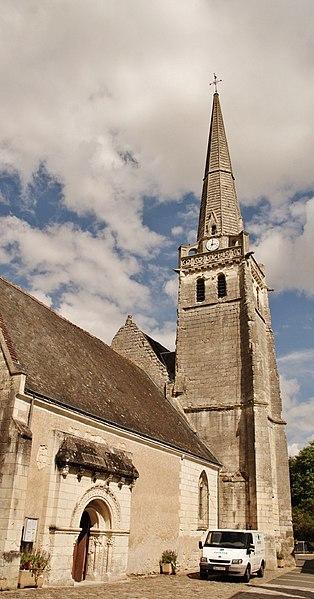 Photo du Monument Historique Eglise paroissiale Saint-Perpet situé à Neuil