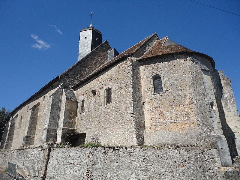 Photo du Monument Historique Eglise paroissiale Saint-Pierre situé à Neuillé-le-Lierre