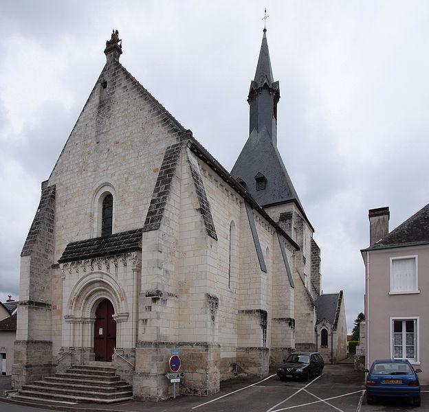 Photo du Monument Historique Eglise paroissiale Saint-Martin situé à Nouans-les-Fontaines