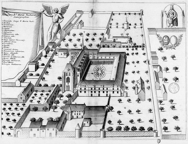Photo du Monument Historique Ancienne abbaye de Noyers situé à Nouâtre